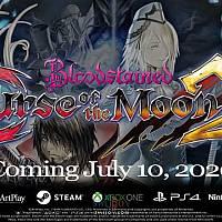 Switch《血污:月之诅咒2》宣传片公布 将于7月10日发售
