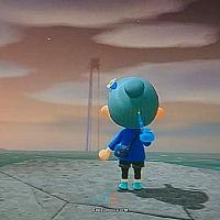 玩家在Switch《动物森友会》中发现远方的怪影