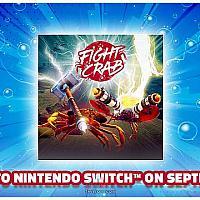 Switch魔性格斗游戏《螃蟹大战》将于9月15日发售