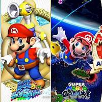 Switch《超级马里奥64》与原版对比视频曝光
