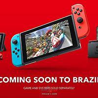 Switch将于本月18日在巴西发售 售价惊人