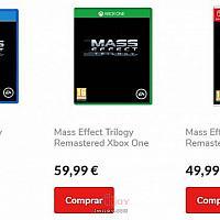 《质量效应:三部曲》售价曝光 Switch版最便宜