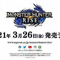 Switch《怪物猎人:崛起》将于明年3月26日发售