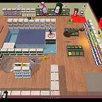 Switch休闲竞速游戏《超市尖叫购物车》将于10月23发售