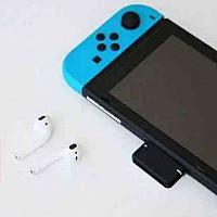Switch 游戏机也能连 AirPods 秘密就在GENKI