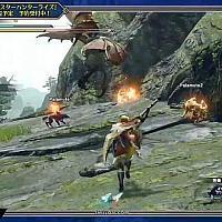 Switch《怪物猎人:崛起》实机演示大剑狩猎伞鸟