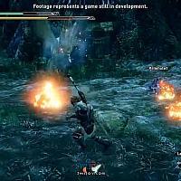 Switch《怪物猎人:崛起》大剑狩猎鸟翼龙6分钟新演示公布