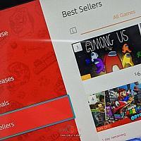 Switch《我们之中》上架一天就攀升热销榜榜首