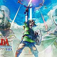 Switch《塞尔达传说:天空之剑HD》细节公布 将于今夏发售
