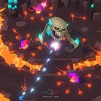 Switch双摇杆弹幕游戏《Godstrike》将于4月15日发售