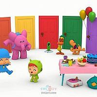 根据儿童动画改编的Switch游戏《小P优优派对》即将发售