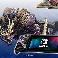 HORI《怪猎:崛起》主题Switch手柄今日正式上架