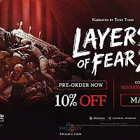 Switch恐怖冒险游戏《层层恐惧2》将于5月20日发售
