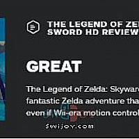 Switch《塞尔达传说:御天之剑HD》获IGN评分为8分