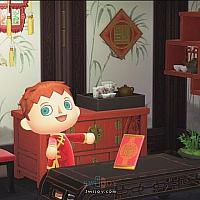 Switch《集合啦!动物森友会》中国农历新年装饰限时发售