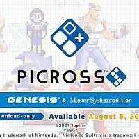 世嘉联动Switch数织游戏《Picross S Mega Drive》将于 8月5日发售