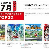 7月eShop下载排行 Switch《怪猎物语2》夺冠