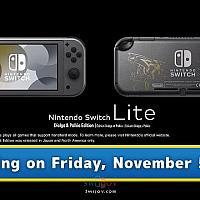 Switch Lite《宝可梦:晶灿钻石/明亮珍珠》主题限定主机将于11月5日发售
