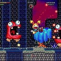 Switch横轴射击像素游戏《Spectacular Sparky》将于10月20日发售