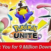 Switch免费MOBA《宝可梦:大集结》下载量超900万