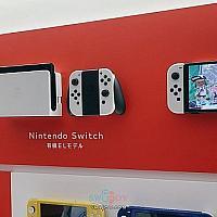 Switch OLED新机型首批真机照曝光