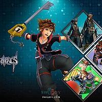 Switch暂无原生移植的《王国之心》系列游戏