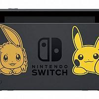任天堂推出同捆纪念版《精灵宝可梦》Switch游戏主机套装