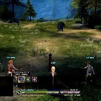 Switch版《刀剑神域:虚空幻界》体感操作演示截图