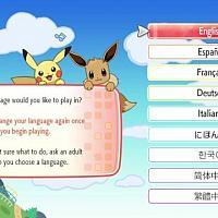 注意!Switch《精灵宝可梦Let's Go》首次选择语言之后将不可更改