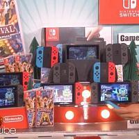 美超级摔角明星约翰·塞纳和艾伦宣传Switch版《嘉年华游戏》