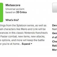 Switch《任天堂明星大乱斗:特别版》评分出炉 MC平均分93 IGN 9.4
