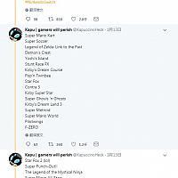 玩家爆料Switch在线服务编码线索内含SNES游戏