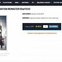 捷克电商泄露Switch《刺客信条3+解放》合集下月发售