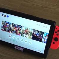 传说中的Switch Pro?堪比iPad的大屏Switch面世