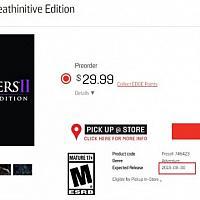 Switch《暗黑血统2:死亡终极版》准确发售日被泄露