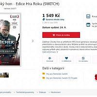 Switch《巫师3》的发售日疑遭泄露