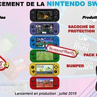 法国配件商曝光Switch Mini外观
