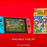Switch《超级马里奥制造2》售前预热预告视频发布